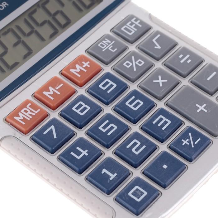 Калькулятор настольный, 8-разрядный, MS-316, двойное питание - фото 408710015