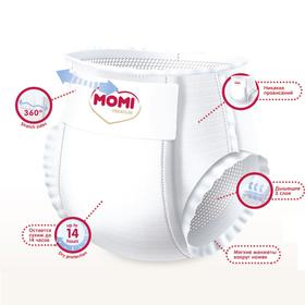 Подгузники-трусики MOMI Premium L (9-14 кг), 44 шт