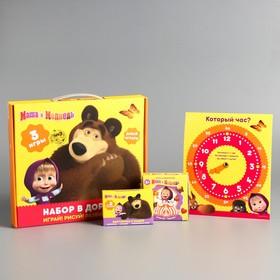 Настольная игра «Дуббль», Маша и Медведь