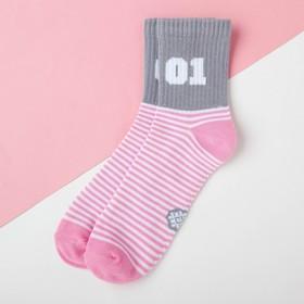 """Носки детские KAFTAN """"01"""" р-р 14-16, розовый"""