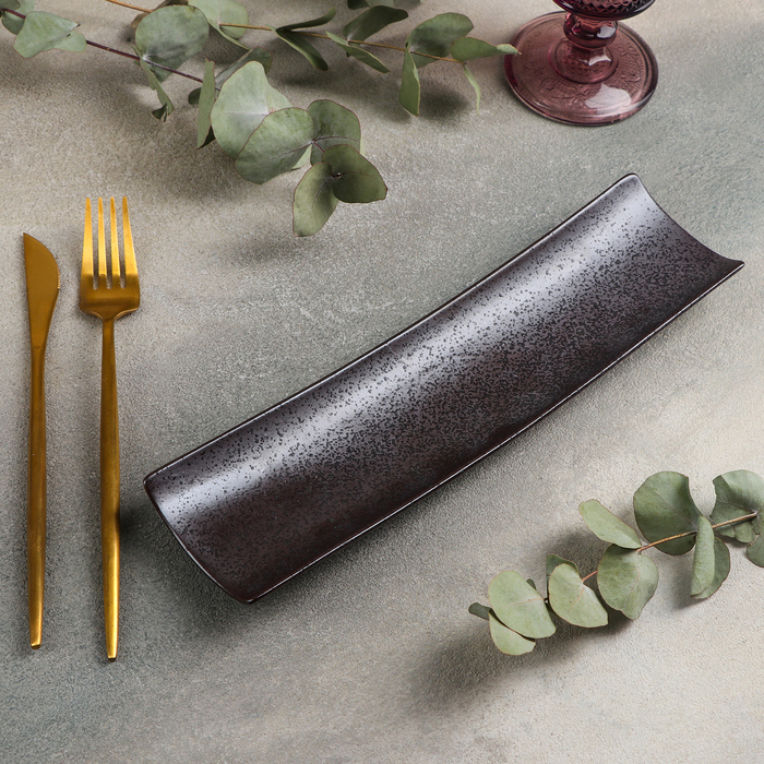 Блюдо для подачи «Шоко», 28×7 см