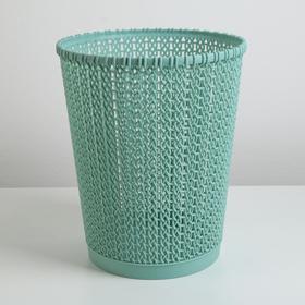 Корзина для мусора, 20.5×20.5×25 см, цвет МИКС
