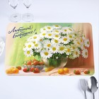 """The napkin on the table """"Beloved grandmother!"""" chamomile, 40 x 25 cm"""
