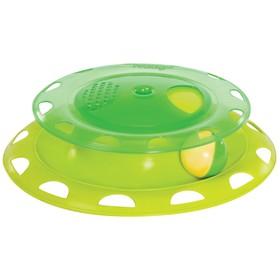 """Игрушка Petstages """"Трек"""" для кошек, с контейнером для кошачьей мяты"""