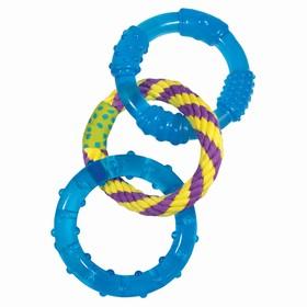 """Игрушка Petstages ОРКА """"3 кольца""""  для собак, 23 см"""