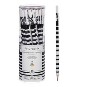 Black pencil ArtGraphix.Fun. Raccoon HB plast body 21-0050 / 08.