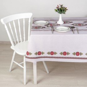 """The oilcloth a dining room on the fabric (roll 20 metres), width 137 cm """"Feast"""""""