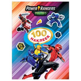 100 stickers. Power Rangers. TM Power Rangers