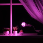 Lamp for plants 12 W, 9 µmol/s, the flexible legs 15 cm off on the case