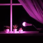 Светильник для растений 15 Вт, 12 мкмоль/с, гибкая ножка 15 см, выкл на корпусе