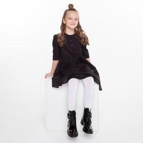 Колготки детские, цвет белый (bianco), рост 104-110 см