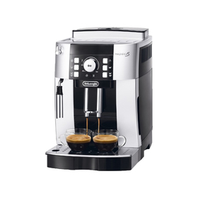 Кофемашина Delonghi ECAM 21 117 SB, 1450 Вт, 1.8 л, 250 г, режим ожидания, серебристо-чёрная