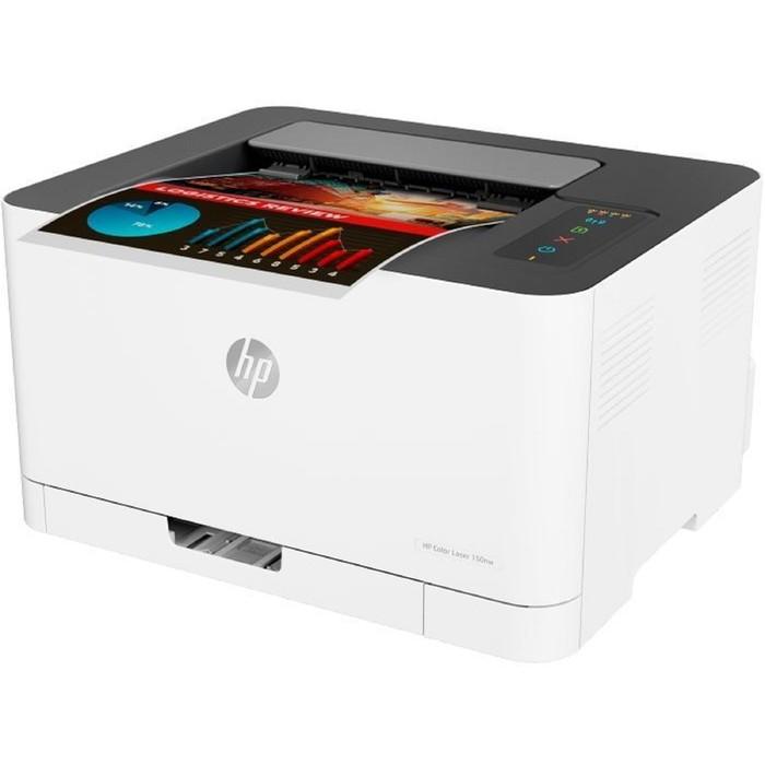 Принтер, лаз цв HP Color LaserJet 150nw (4ZB95A), A4, WiFi