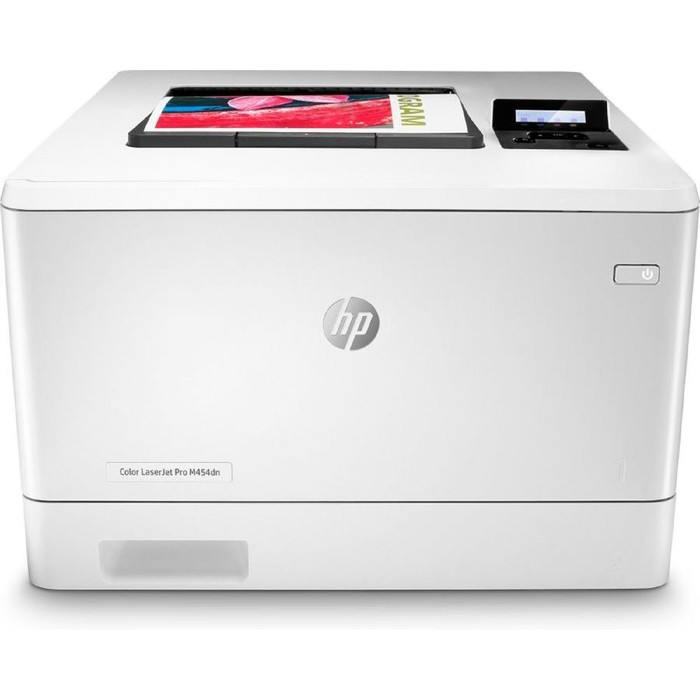 Принтер, лаз цв HP Color LaserJet Pro M454dn (W1Y44A), A4