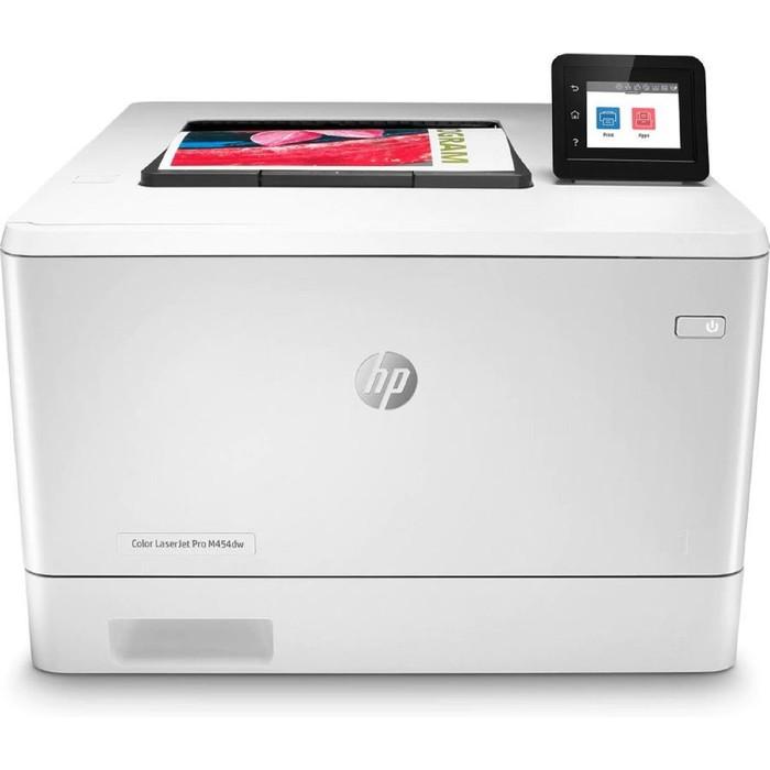 Принтер, лаз цв HP Color LaserJet Pro M454dw (W1Y45A), A4, WiFi
