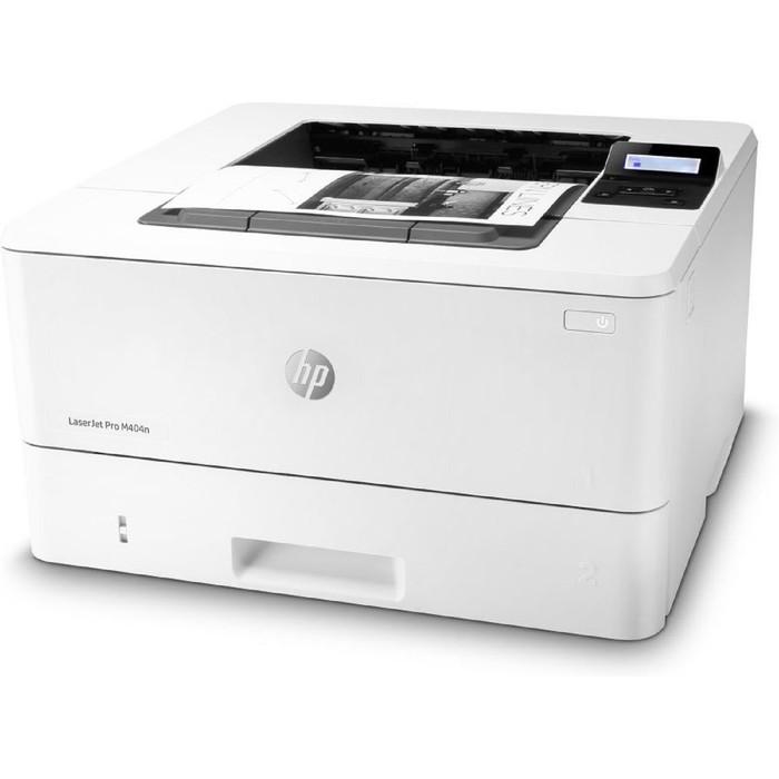 Принтер, лаз ч/б HP LaserJet Pro M404n (W1A52A), A4