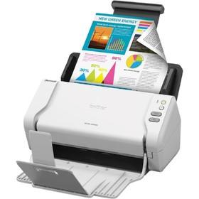 Сканер Brother ADS-2200 (ADS2200TC1), A4, белый Ош