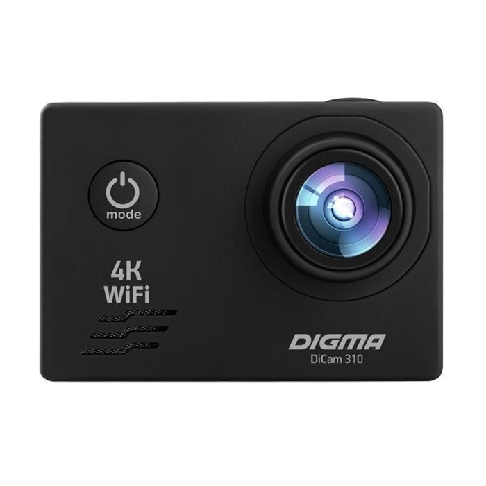 Экшн-камера Digma DiCam 310, черный