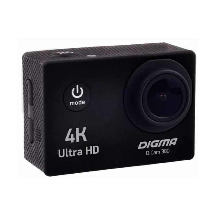 Экшн-камера Digma DiCam 380, черный