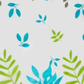 Штора для ванной комнаты Доляна «Райский сад», 180×180 см, EVA