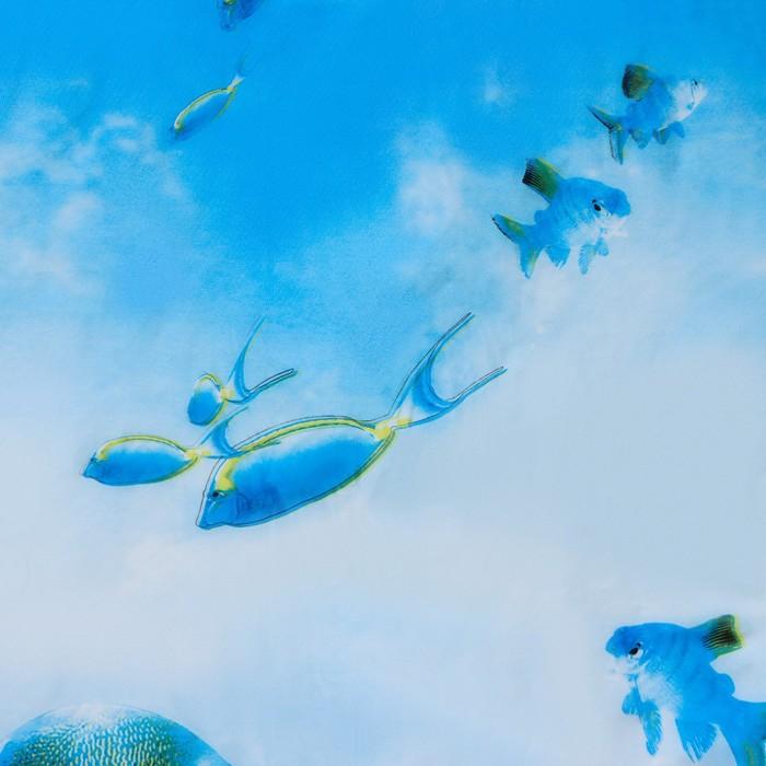 "Blind for the bathroom ""Fish"", 180х180 see EVA"