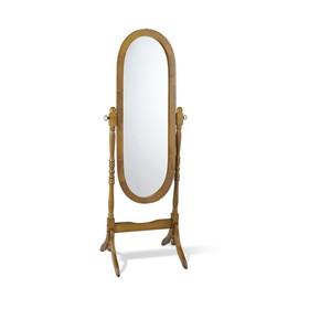 Зеркало, 525x510x1500,светлый орех