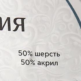 """Пряжа """"Гармония"""" 50% шерсть, 50% акрил 245м/100гр (5404 меланж) - фото 7448041"""