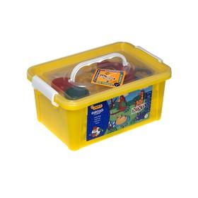 Набор для лепки JOVI «Зоопарк», 5 цветов x 50 г, аксессуары, пластиковый контейнер
