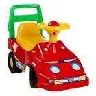 Толокар «Автомобиль для прогулок», с гудком-пищалкой, МИКС - фото 105642667
