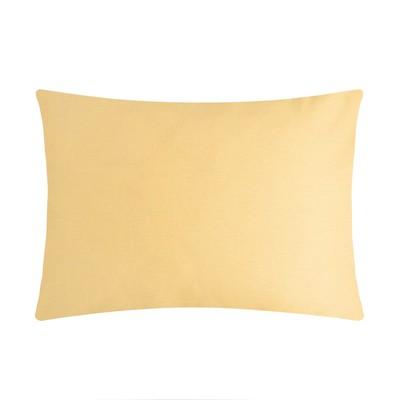 Pillow case 50*70 Ethel,Col.yellow, calico, 125 gr/m2,100% cotton