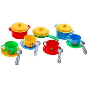 Посуда «Маринка», 18 предметов