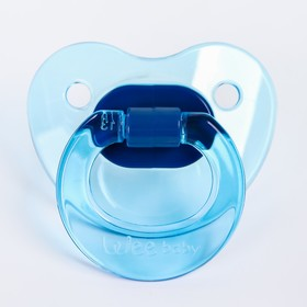 Соска-пустышка ортодонтическая CANDY, от 6 мес. цвет МИКС