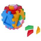 """Развивающая игрушка куб """"Умный Малыш. Логика 2"""", 28 элементов"""