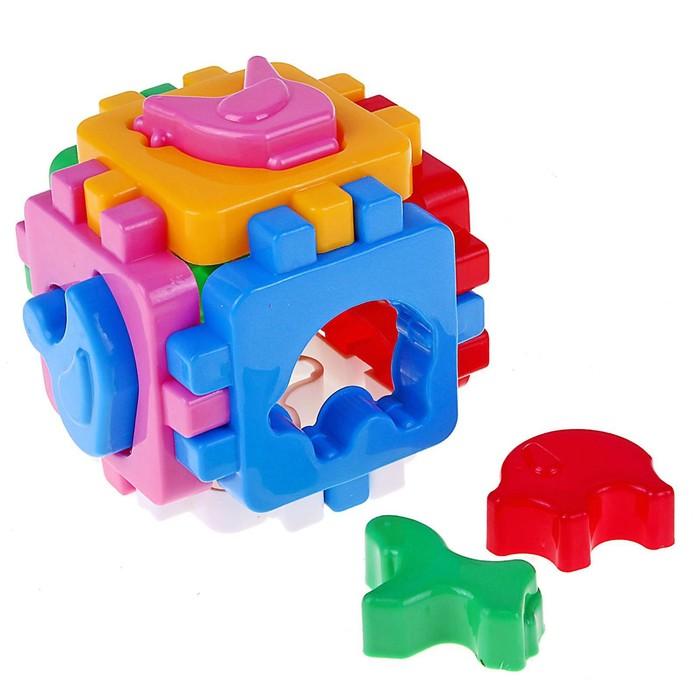 Куб «Умный малыш. Домашние животные» - фото 1025588