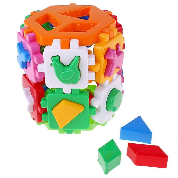Игрушка сортер-куб «Умный малыш» - фото 105585889