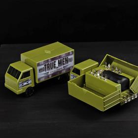 """Набор инструментов в грузовике """"Для настоящего мужчины"""", подарочная упаковка, 15 предметов"""