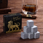 """Stones for whiskey in a cardboard box """"the best of the Best"""", 9 PCs"""