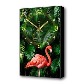 """Часы настенные, серия: Природа, """"Фламинго"""", 57х35х4 см в Донецке"""