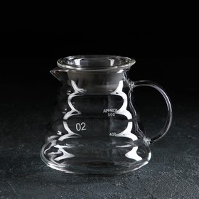 Чайник заварочный с крышкой «Бриз», 500 мл
