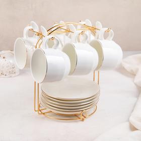 {{photo.Alt || photo.Description || 'Сервиз чайный «Бланш», 19 предметов: 6 чашек 170 мл, 6 блюдец 13,5 см, 6 ложек, на металлической подставке'}}