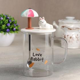 {{photo.Alt || photo.Description || 'Кружка «Кролик», 450 мл, с керамической крышкой и ложкой, рисунок МИКС'}}