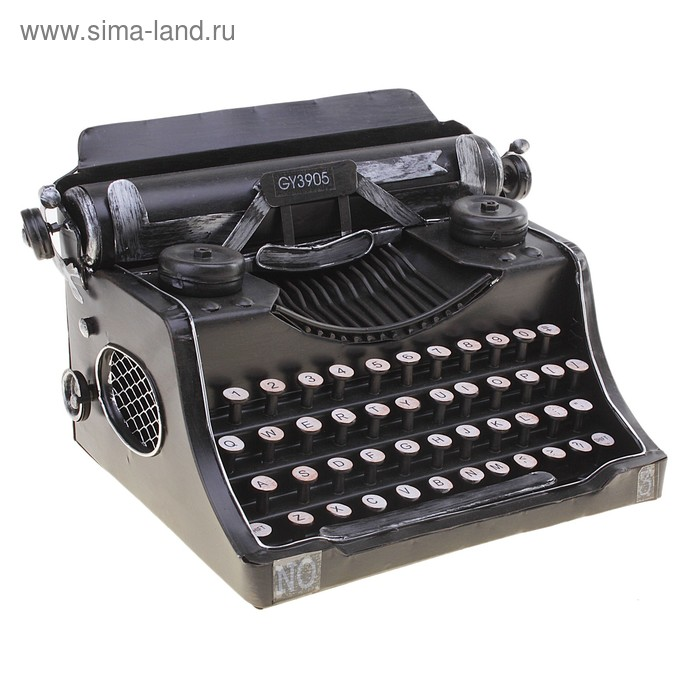 """Сувенир """"Печатная машинка ретро"""""""