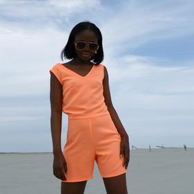 Комбинезон женский MINAKU 'Neon collection' цвет оранжевый , р-р 44 Ош