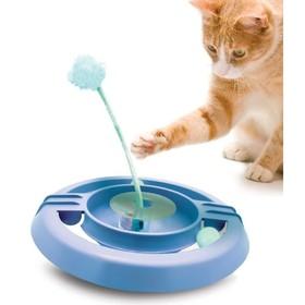 """Игрушка Petstages """"Трек-неваляшка"""" для кошек, 34 см"""