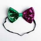 Карнавальная бабочка «Клоун», цвета МИКС