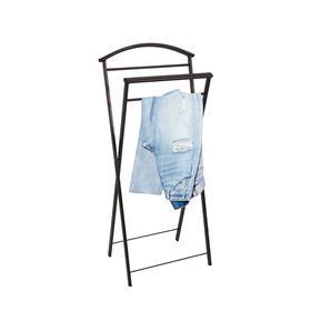 Вешалка костюмная «Контур», 44×31×95 см, цвет медный антик - фото 4642412