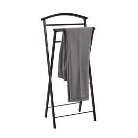 Вешалка костюмная «Контур малый», 35×24×75 см, цвет медный антик - фото 4642393