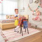 Вешалка костюмная «Контур малый», 35×24×75 см, цвет медный антик - фото 4642395