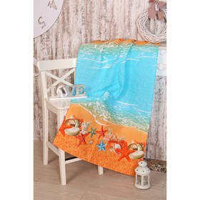 Вафельное полотенце Прибой 189581 80х150 см, хлопок 100%, 160г/м2