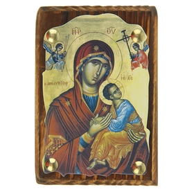 """Icon """"blessed virgin Mary"""" on the suspension"""